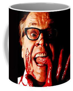 Jack Nicholson Painted From Photo Of Matthew Rolston Coffee Mug