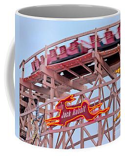 Jack Rabbit Coaster Kennywood Park Coffee Mug by Jim Zahniser