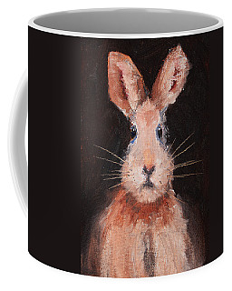 Jack Rabbit Coffee Mug by Nancy Merkle