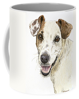 Jack Russell Terrier Portrait Coffee Mug