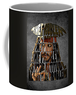 Jack Sparrow Quote Portrait Typography Artwork Coffee Mug