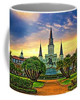 Jackson Square Evening - Paint Coffee Mug