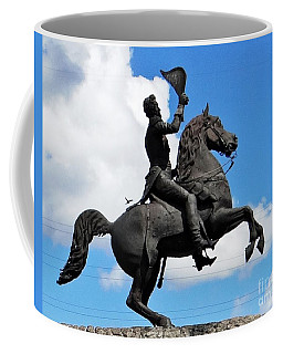 Jackson Square On The French Quarter Coffee Mug by Ecinja Art Works