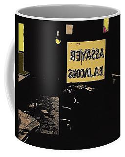 Coffee Mug featuring the photograph Jacob's Assay Office Barrio Tucson Az by David Lee Guss
