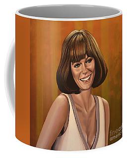 Jacqueline Bisset Painting Coffee Mug