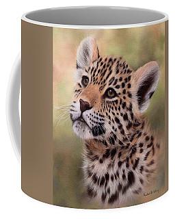 Jaguar Cub Painting Coffee Mug