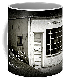 Jail And Wedding Chapel Coffee Mug