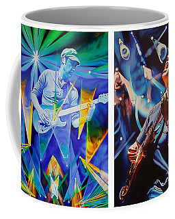 Coffee Mug featuring the painting Jake And Brendan by Joshua Morton