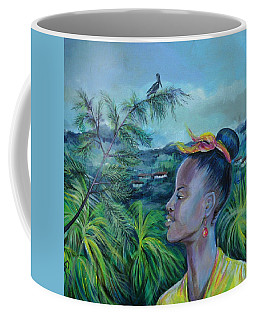 Coffee Mug featuring the painting Jamaica. Part Two by Anna  Duyunova
