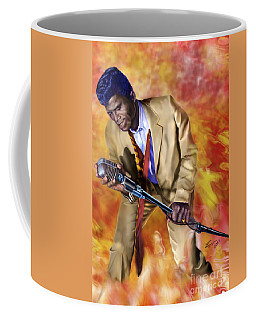 James Brown And His Famous Flames Coffee Mug