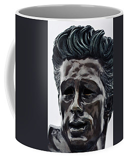 Coffee Mug featuring the photograph James Dean The Rebel by Kyle Hanson