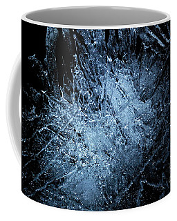 Coffee Mug featuring the photograph jammer Frozen Cosmos by First Star Art
