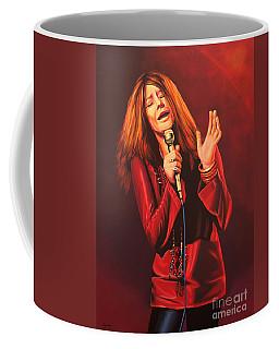 Janis Joplin Painting Coffee Mug