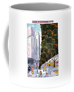 January 3rd At Rockefeller Center Coffee Mug