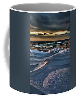 January Saugatuck Blues Michigan Coffee Mug