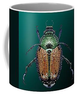 Japanese Beetle Bedazzled II Coffee Mug