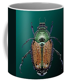 Japanese Beetle Bedazzled II Coffee Mug