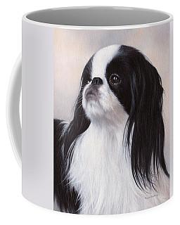 Japanese Chin Painting Coffee Mug by Rachel Stribbling