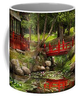 Japanese Garden - Meditation Coffee Mug