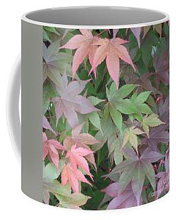 Japanese Maple Leaves Coffee Mug by Christina Verdgeline
