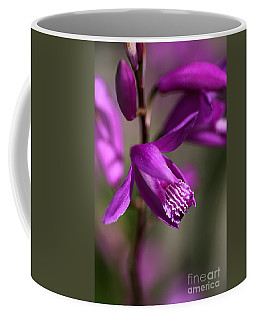 Coffee Mug featuring the photograph Japanese Orchid by Joy Watson
