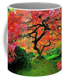 Japanese Red Maple Coffee Mug