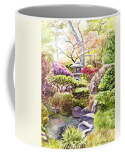 San Francisco Golden Gate Park Japanese Tea Garden  Coffee Mug
