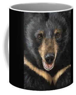 Jasper Moon Bear - In Support Of Animals Asia Coffee Mug by Rachel Stribbling