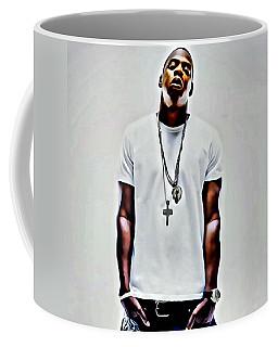 Jay-z Portrait Coffee Mug