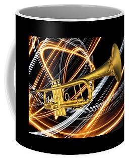 Jazz Art Trumpet Coffee Mug