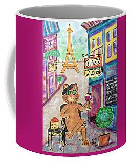 Jazz Cat Coffee Mug