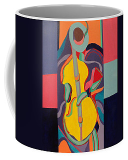 Jazzamatazz Cello Coffee Mug