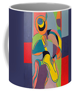 Jazzamatazz Saxophone Coffee Mug by Angelo Thomas