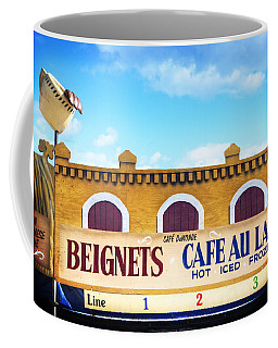 Coffee Mug featuring the photograph Jazzfest Heaven by Tammy Wetzel