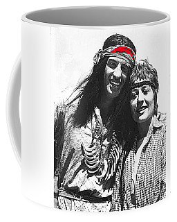 Coffee Mug featuring the photograph Jean Paul Belmondo As An Apache by David Lee Guss