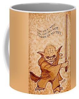 Jedi Yoda Wisdom Coffee Mug