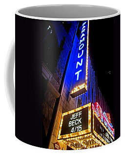 Coffee Mug featuring the photograph Jeff Beck At The Paramount by Fiona Kennard