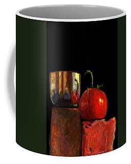 Jefferson Cup With Tomato And Sedona Bricks Coffee Mug