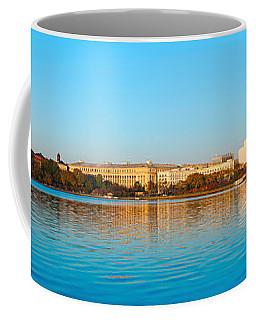 Jefferson Memorial And Washington Coffee Mug