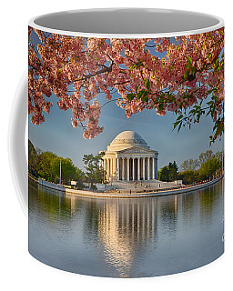 Jefferson Memorial In Spring Coffee Mug
