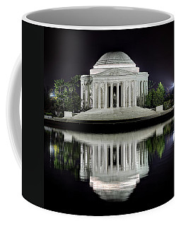 Jefferson Memorial - Night Reflection Coffee Mug