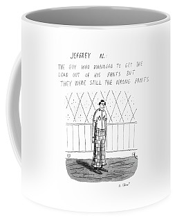 Jeffrey N. :the Guy Who Managed To Get The Lead Coffee Mug