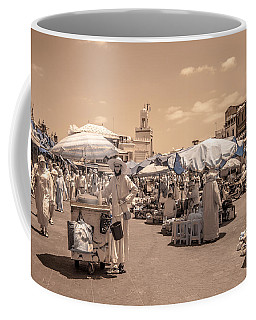 Jemaa El Fna Market In Marrakech Coffee Mug