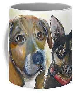 Jena And Dozer  Coffee Mug