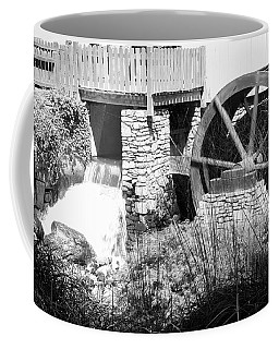 Jenney Mill In Black And White Coffee Mug