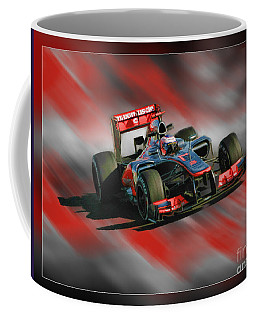 Jenson Button  Coffee Mug