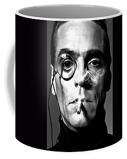 Jeremy Irons Portrait Coffee Mug