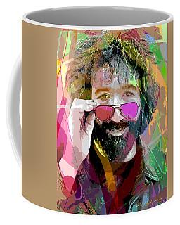 Jerry Garcia Art Coffee Mug
