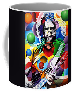 Jerry Garcia In Bubbles Coffee Mug