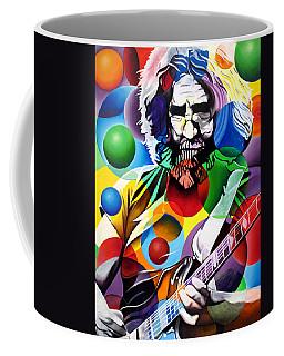 Jerry Garcia In Bubbles Coffee Mug by Joshua Morton